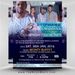Red Carpet Moments At 2015 Top Naija Music Awards Presentation Ceremony