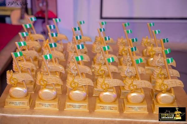 8th Top Naija Music Awards Contestants Categories